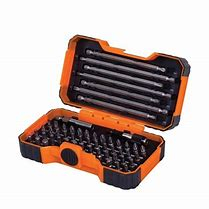 BAH59S54BCD        BAHCO 54pce SCREWDRIVER BIT SET