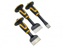 ROUGHNECK CHISEL & BOLSTER SET 3 PIECE